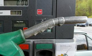Drivstoff-prishopp