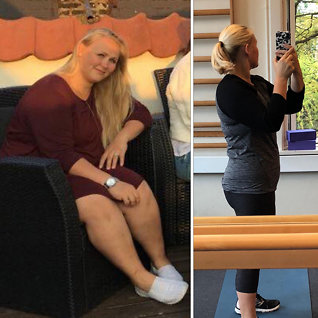 Peter Schmeichels datter: Slik gikk jegned 30 kilo