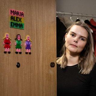 Maria Støre (21):Forferdeligat foreldrene skulle skilles