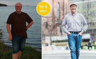 Henning (48) gikk ned 32 kilo