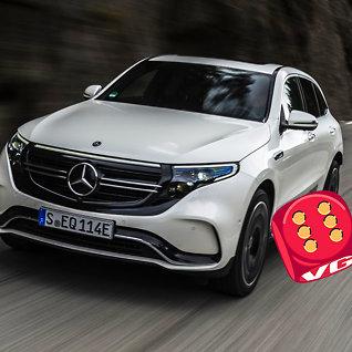Test av Mercedes EQC: Prisbombe