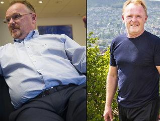 Laget sin egen diett - gikk ned 20 kilo