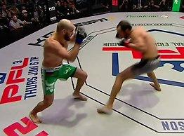 NB! Sterke bilder: Brutal knockout