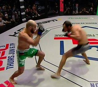 NB! Sterke bilder: Brutalknockout