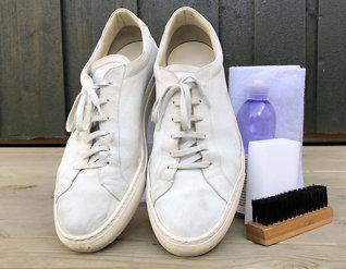 Slik blir semskede sko nye på 1-2-3