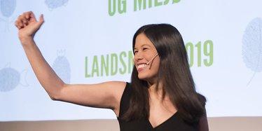 Talte til MDG-landsmøtet: - Elsker bomringen!