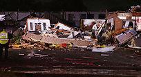 NÅ: Tornado herjet - minst to døde
