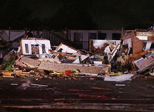 Tornado herjet - minst to døde