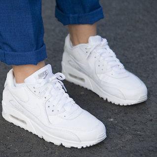 Grepene for hvite sko