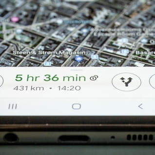 Google Maps fårspeedometer