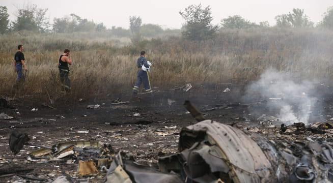 Passasjerfly skutt ned over Ukraina i 2014 - 298 døde:NÅ: Fire siktet fornedskytingen