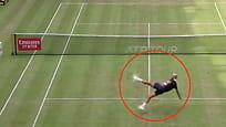 Spiller tenniskamp -så skjer dette
