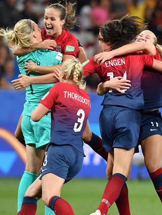 Norge til kvartfinale: - Fy fader, så gode vi er
