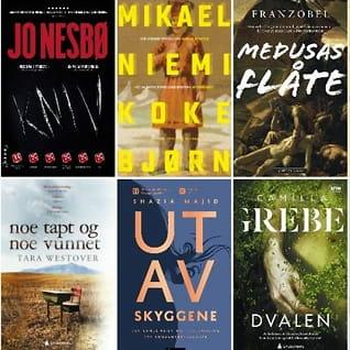 10 perfekte bøkertil sommeren!