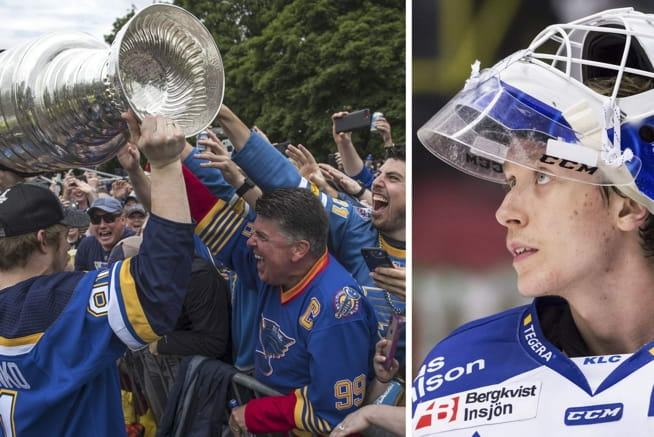 Jonas (21) skal trene med NHL-mesteren