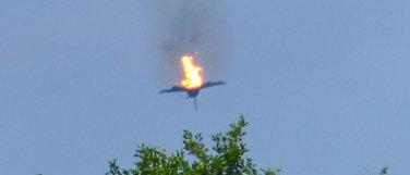 To jagerfly styrtet:Én død og én overlevde