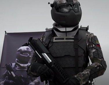 Fremtidens våpenkappløp:«Smarte» uniformer,droner og småatombomber