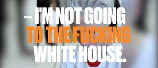 Her irriterer hunpresidenten