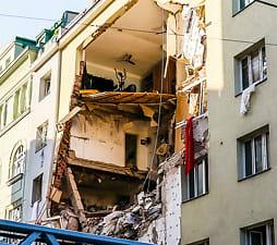 Eksplosjon i Wien:To alvorlig skadet