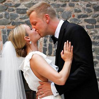 Katrine og Fridtjofs romantiske bryllup