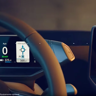 Slik blir dashbordet i VW nye elbil