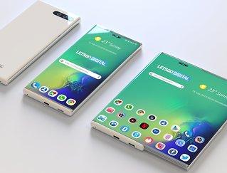 Samsung-patent på «rulletelefon»