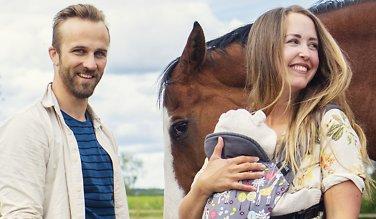 «Idol-David» og Tinki byttet ut Oslo med gårdsliv på landet