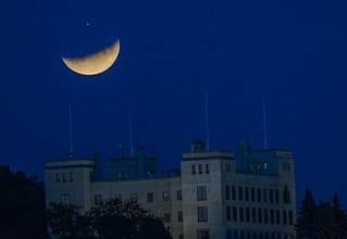Delvis måne-formørkelse