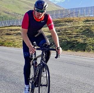Skal ha knust rekord:Syklet hele Norgepå seks døgn
