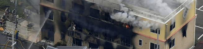 Påsatt brann i animasjonsstudio:SISTE: 12 personer fryktes omkommet
