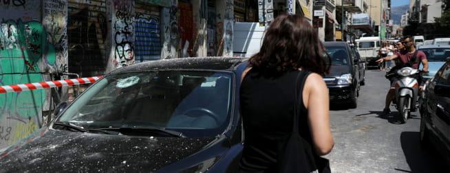 Jordskjelv i Athen:- Jeg fikk panikk