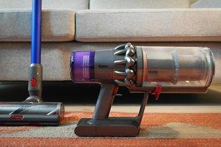 Imponerende trådløs støvsuger
