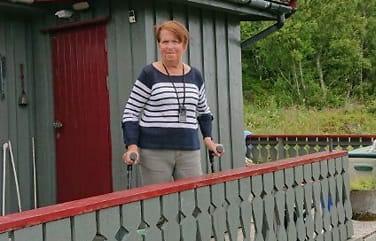 Gerd-Helene (70) ble påkjørt:- Innfør aldersgrensepå elsparkesykkel