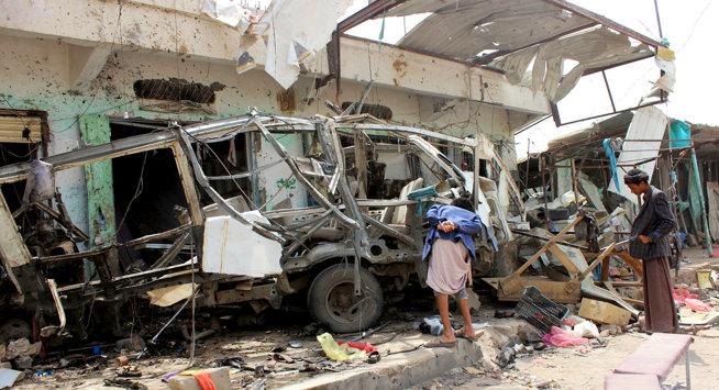 Lager bomber brukt mot Jemens sivile: Tatt inn i varmen av Oljefondet