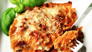 Digg lasagne uten kjøtt