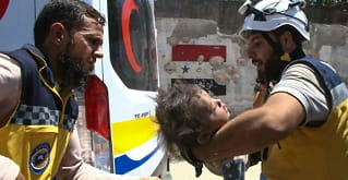 18 sivile drept iluftangrep i Syria