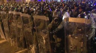 Demonstrasjoner i Hong Kong:Tåregass oggummikuler