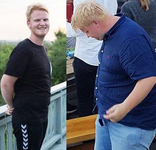 Gikk ned 30 kilo etter veddemål