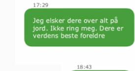 Astrid overlevde 22. juli:Her er meldingenefra Utøya