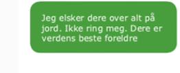 Her er meldingenefra Utøya