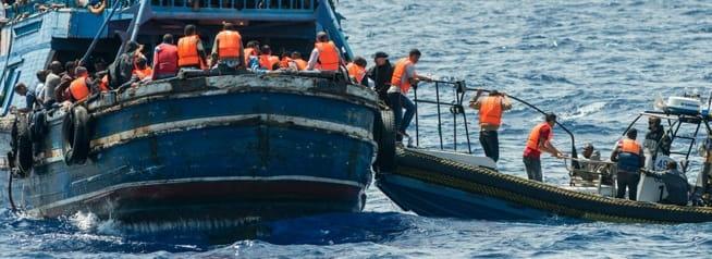 Kallmyr om migranter:- Bør settes i land ved nærmeste havn