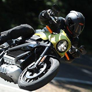 Verdens første el-Harley: Så lang er rekkevidden