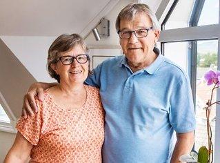 Tok farvel med kona:Kjempet for livetunder TV-sending