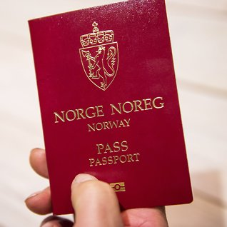 Du må ha visumfor å reise hit