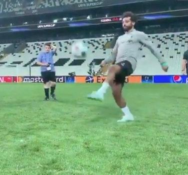 Salah-bilder rører fotballverden