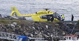 Gutt (10) skadet ibåtulykke