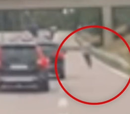Kjørte sparkesykkel- pågrepet