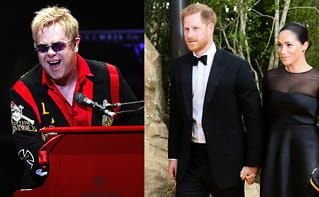 Kritiseres for å fly: Får støtte fra Elton John