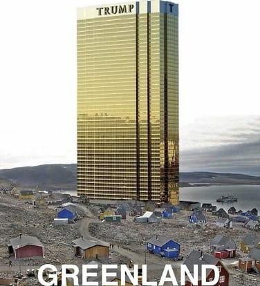 Sjekk Trumps Grønland-spøk