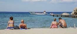 Stjal sand fra strand -risikerer fengsel